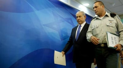 Israeli PM Benjamin Netanyahu is facing pressure from the extreme-right in Israel, writes Moor [AP]