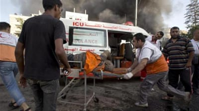 Mass casualties as Gaza market area bombed