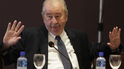 Grondona was a powerful ally of FIFA president Sepp Blatter [REUTERS]