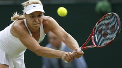 Lisicki had beaten Ivanovic at Wimbledon earlier this year [REUTERS]