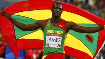 James, the Olympic champion, is just 21 years old [REUTERS]