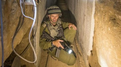 Israel vows to destroy tunnels before truce