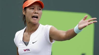 Li Na won the year's first Grand Slam, the Australian Open [AP]