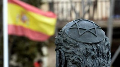 Spain's present-day Jewish community is about 100,000-strong [AFP]