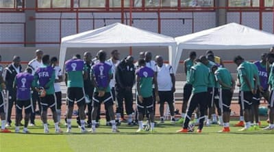 Nigeria's World Cup came to an end after a 2-0 loss to France in the last-16 [EPA]