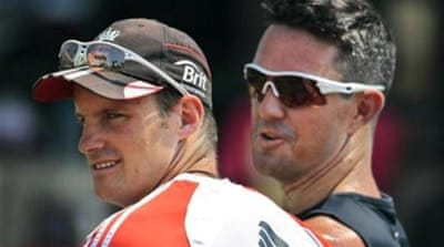 Strauss and Pietersen fell out during England's tour of South Africa in 2012 [AP]