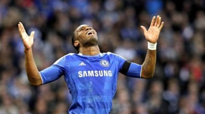 Drogba has already scored 157 goals for Chelsea [EPA]