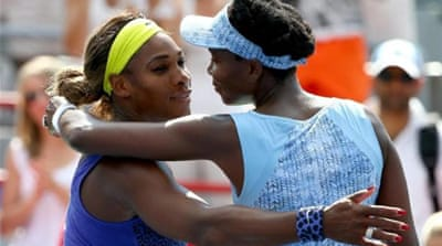 Serena [left] still holds a 14-11 lead against Venus [Getty Images]