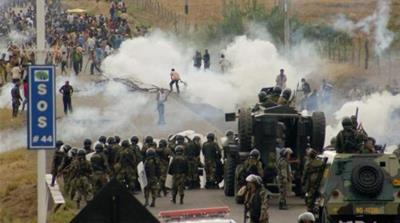 In 2009, 33 people died in clashes between anti-mining protesters and police. [Reuters]