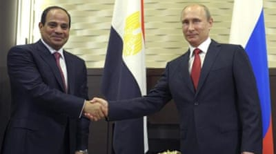 Ties between the two countries have warmed in the year since Sisi deposed former President Morsi[REUTERS]