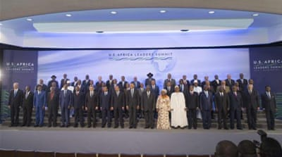 The US-Africa Leaders Summit brought almost 50 African heads of state and government to Washington DC [EPA]