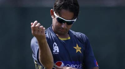 Ajmal was first reported for a suspect action in 2009 before cleared by the ICC [REUTERS]