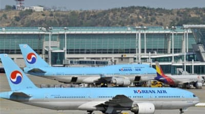 The South Korean flag carrier will stop operating flights between Incheon and Nairobi [AP]