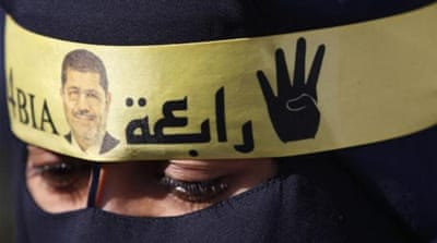 A year after the Rabaa massacre, no one has been held accountable, writes al-Anani. [Reuters]