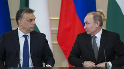 Hungary eyes Russia's 'illiberal' model