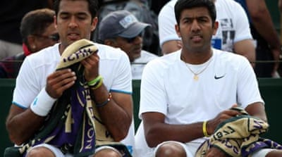 Qureshi (left) and Bopanna first played together in 2007 [Getty Images]