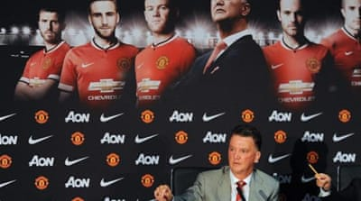 Scholes does believe that Van Gaal will begin the process of making the club a strong one again [EPA]