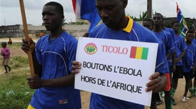 Ebola fears have already forced postponement and relocation of football events [AFP]