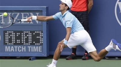 Djokovic lost to Robredo for the first time since 2005 [AP]