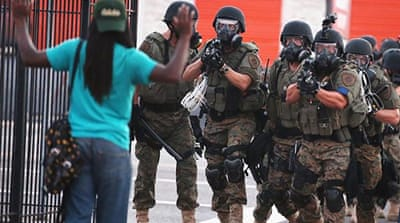 Taking up arms: The militarisation of US police