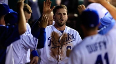 The Royals have increased their American League Central lead to 1 ½ games [Getty Images]
