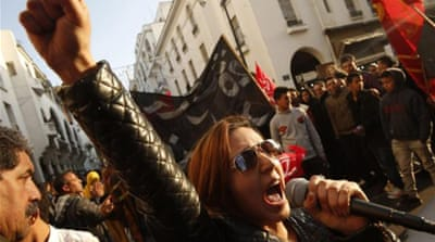 Inspired by Arab uprisings, the February 20 movement was founded by middle-class youth [Reuters]