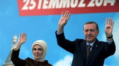 Turkish presidential candidate Ihsanoglu has the support of the two largest opposition parties [AFP]