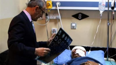 Iraq's hospitals caught in the crosshairs