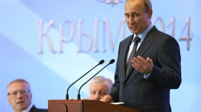 Putin's Soviet 'therapy' for Crimea