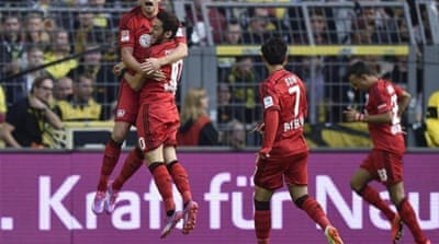 Bayer Leverkusen were in the lead after just nine seconds [AP]