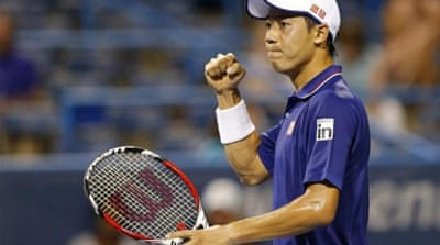 Nishikori keeping Japan's interest alive
