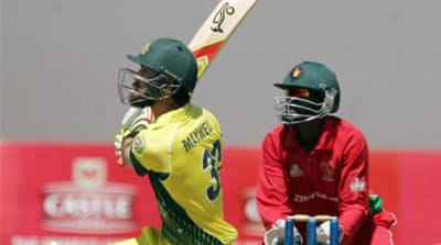 Maxwell hit his highest ODI score, a 46-ball 93 with nine fours and five sixes [AFP]