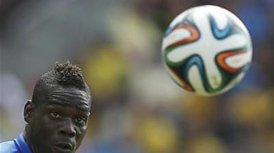 Balotelli joins Liverpool as a replacement for Luis Suarez who joined Barcelona [REUTERS]