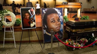 US mourns Ferguson teenager killed by police