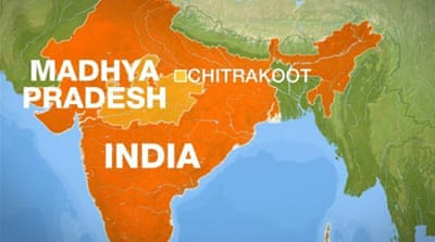 Several dead in central India temple stampede