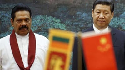 China provided monetary assistance to build Sri Lanka's new Mattala Rajapaksa International Airport [File: EPA]