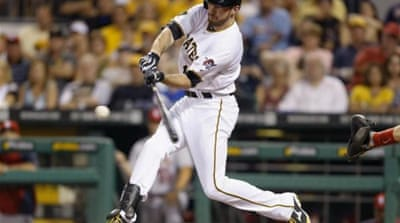 Davis' late assault helped Pirates seal the win [AP]