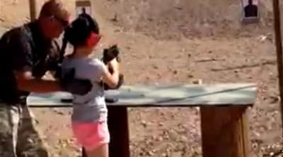US girl shoots gun instructor in the head