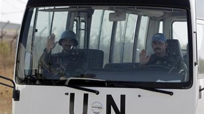 UN soldiers escape siege by Syria rebels