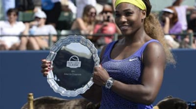 Williams won the Stanford Classic in 2011 and 2012 as well [EPA]