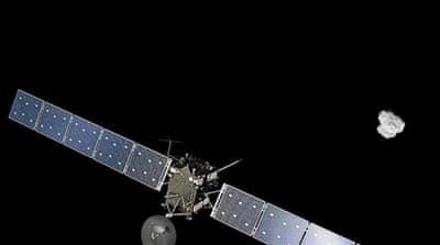 Spacecraft catches comet after 10-year chase