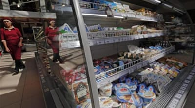 Russia bans food imports from West