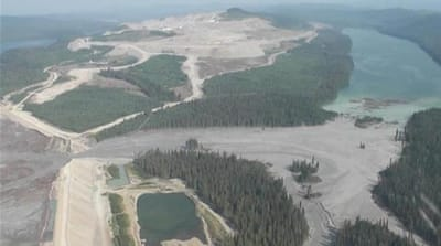 Salmon run threatened by Canada mining spill