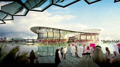 A decision on whether Qatar 2022 will be held in summer or winter has not been taken yet [EPA]