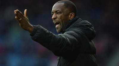 Lack of black managers in English football