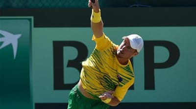 Hewitt played his first Davis Cup match 15 years ago [Getty Images]