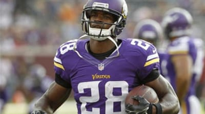 Peterson faces court case for reckless or negligent injury to a child [AP]