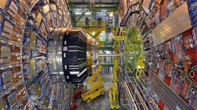 China plans world's largest supercollider