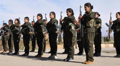 The 'other' Kurds fighting the Islamic State