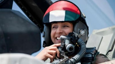 Patronising the 'pretty' fighter jet pilot